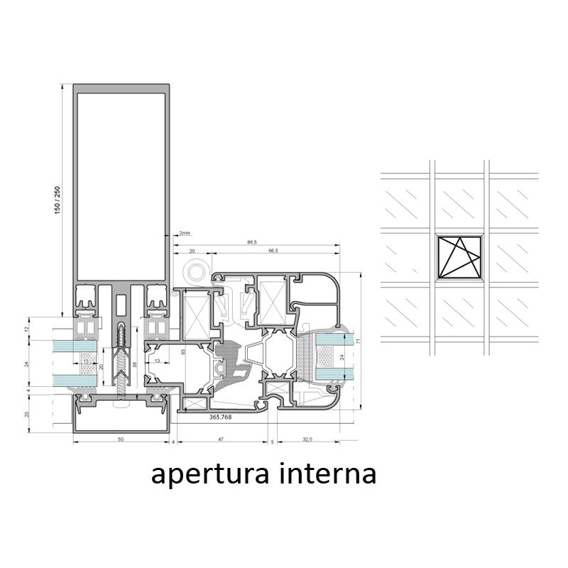 vetral roma immagine profilo sezione apertura interna