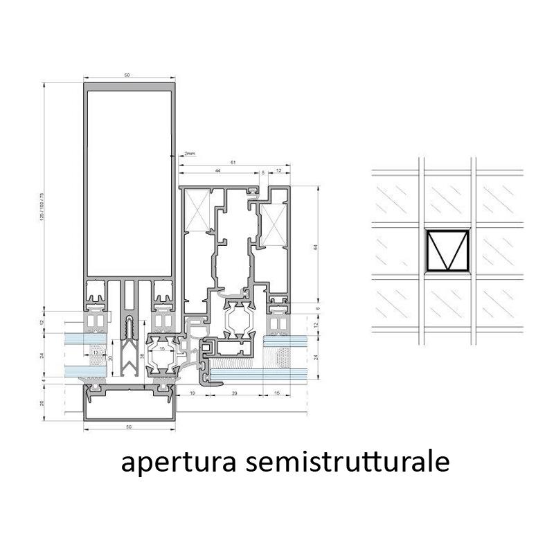 vetral roma immagine profilo sezione apertura semistrutturale