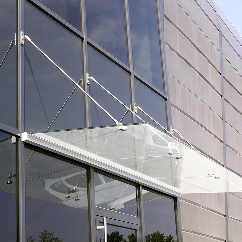vetral roma immagine  pensiline vetro cristallo